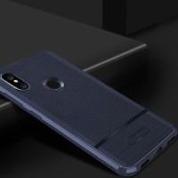 Murah!! Leather Armor Case Xiaomi Mi8 Mi 8 Softcase Casing Hp Back