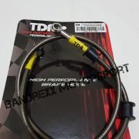 Brake Line-Selang Rem TDR Black Carbon R15-R25-Satria FU-Ninja 250-GSX