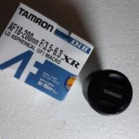 LENSA TAMRON FOR NIKON AF 18-200 F/3.5-6.3 MACRO (SAPU JAGAT)