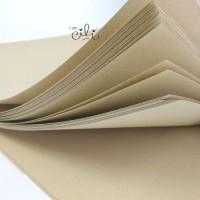 kertas bungkus coklat 45x60 cm / kraft untuk jne