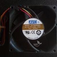 Fan Cooling Kipas DC Ball bearing High speed 12VDC 0,84A 8 x 8 cm