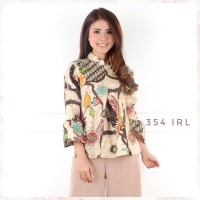 Fashion Batik Irlian bell top