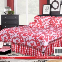 BEDCOVER MY LOVE ALL NEW KING 180X200 / BED COVER MY LOVE ZENA