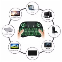 Mini Keyboard Wireless 2.4G gaming i8 Touchpad 3 Color Backlight