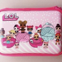 [LOL] Tempat Pensil Jumbo LOL SURPRISE ! / 3D Pencil Hard Case Smiggle