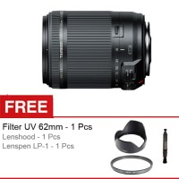 Tamron Lensa 18-200 mm VC II -For Nikon DSLR + Free Aksessories