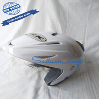 Helm ink cx ice blue ferari replika klasik standar