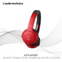 Audio-Technica ATH-AR3BT - RD (RED) Sonic Fuel Wireless Headphone