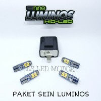 SEIN LUMINOS MOTOR | PAKETAN LAMPU RATING | LED SIGN LUMINOS