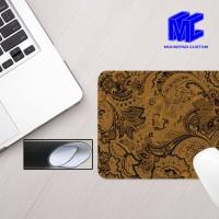 Mouse pad gambar batik nusantara klasik design custom, mousepad gaming