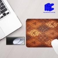 Mouse pad gambar batik nusantara new design custom, mousepad gaming