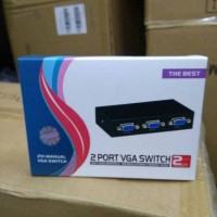 VGA Switch 2 Port/VGA Switcher 2 Port ( 2 in 1 out )