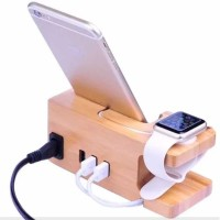 TERMURAH Multifunction Charging Dock for Smartphone and Apple Watch