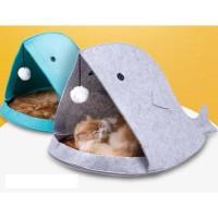 Tempat Tidur Hewan Binatang Anjing Kucing F60 Portable Kandang Mini