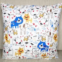 Sarung Bantal Sofa / Cushion, Ukuran 40 X 40 Cm, Motif 555
