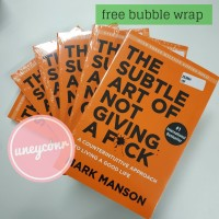 The Subtle Art of Not Giving a F*ck by Mark Manson (English) Promo