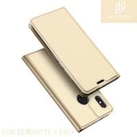 Flip Wallet Dux Ducis Skin Casing Cover Case Xiaomi Redmi Note 5 Pro