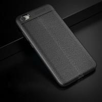 Softcase Leather Auto Focus Original Case Casing Cover Xiaomi Note 5A