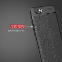 Softcase Leather Auto Focus Original Case Casing Cover HP Vivo Y71