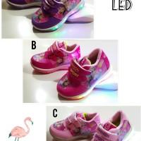 Sepatu anak perempuan FROZEN LED