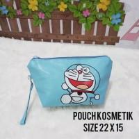 Pouch Kosmetik Doraemon/ Tas Kosmetik Karakter/ Tempat Makeup case