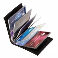 Wallet ID Card/ Wallet Card Leather Wonder Wallet isi 24 Kartu Card