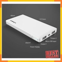 Vivan VPB-V10 10000mAh 2 USB Ports 2A Power Bank VIVAN White