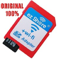 Mediatech Ez Share Wi-fi Micro Sd To Sd Card - Adaptor Merah