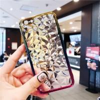 Oppo F7 F 7 Plus Silicone 3D Diamond soft case transparan casing hp