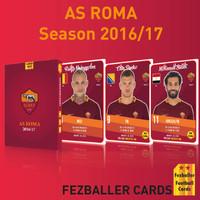 Kartu Bola Fezballer Football Card AS Roma season 2016-2017