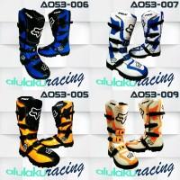 SEPATU BOOTS ORIGINAL Sepatu Cross Lokal For Trabas Trail Motocross
