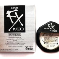 Japan Santen Sante FX NEO Eyedrop Obat Tetes Mata 12ml