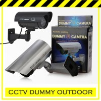 Kamera / Camera CCTV Dummy / Palsu / Tiruan / Fake / Simulasi OUTDOOR