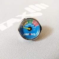 Manometer, mano, gauge, mini, pcp, M10x1, 3500psi