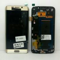 LCD SAMSUNG S6 EDGE / S 6 EDGE / G 925 ORI 100% + FRAME