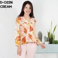 Baju Blouse Atasan Kimono Tangan Panjang Murah Wanita Kekinian Maxmara