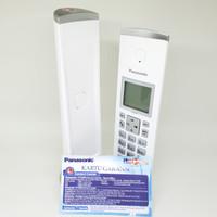 Cordless Phone Panasonic KX-TGK210 Putih Telepon Wireless KX-TGK210