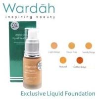 WARDAH Duo Exclusive Bedak SPF 15 dan Liquid Foundation . wangi s