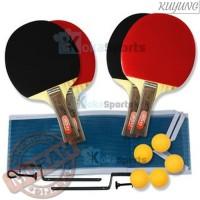 Belanja Peralatan Termurah Aosidan Bat Pingpong Tenis Meja 2 Set