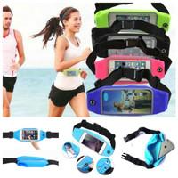 Tas Pinggang Waterproof Case Hp Anti Air Joging Sport