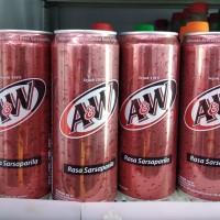 AW / A&W minuman kaleng 330ml