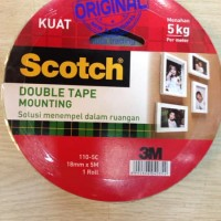 Double Tape - Scotch 3M - Mounting Tape 18 mm x 5M