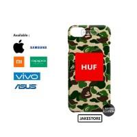 Harga case oppo a3s huf bape army pattern | Pembandingharga.com