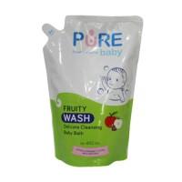 PURE BABY Wash Refill 450ml | Sabun Mandi Bayi | Baby Wash