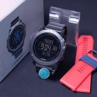 Jam Tangan Pria Garmin Fenix 5x Dual Time Anti Air Paket 2 Tali HBmm