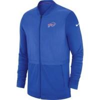 Men's Buffalo Bills Nike Blue Sideline Hybrid Full Zip Jacket