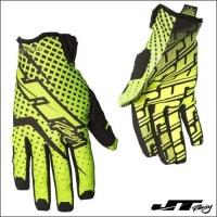 Sarung Tangan Motor JT Racing Pro Fit Glove Neon Yellow