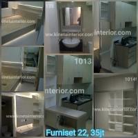 Room set duco hpl furniture apartmen rumah