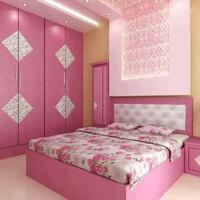 tempat tidur pink