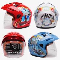WTO Helm Anak Kids Pet - Robocar Poli